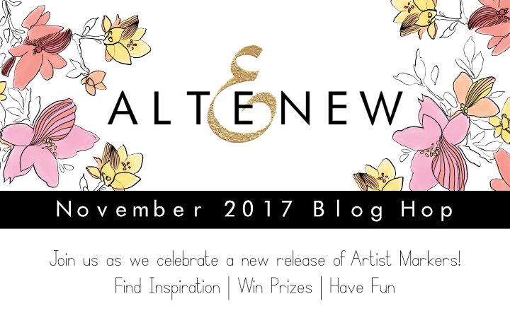 Altenew Marker Release Blog Hop +Giveaway!