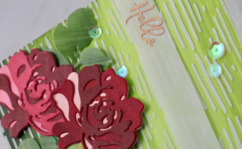 Fantasty Florals card inDecember!