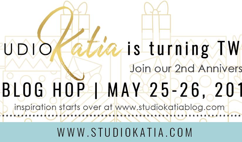 Studio Katia 2nd Anniversary bloghop!
