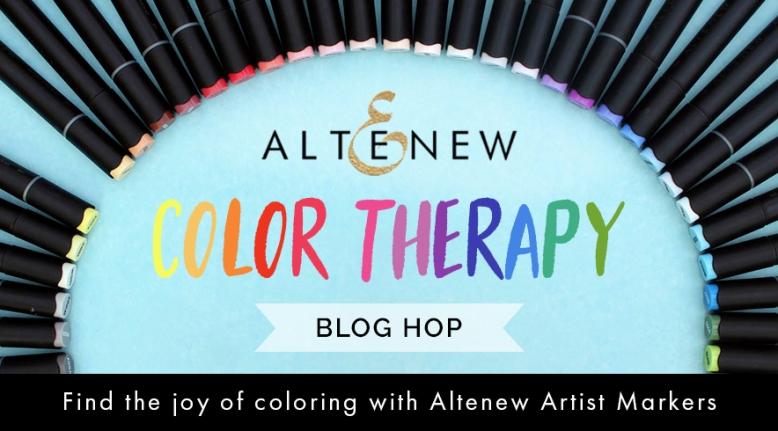 Altenew Color Therapy Blog Hop Graphic