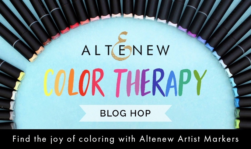 Altenew Color Therapy Blog Hop +Giveaway
