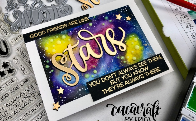 Card for MFT Stamps Camp Create Day 1: WonderfulWatercolor