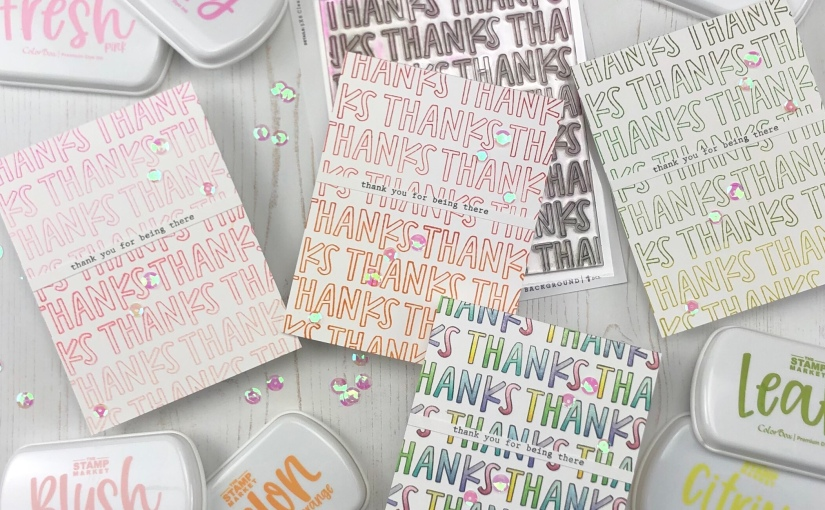 Thank You Cards with The StampMarket