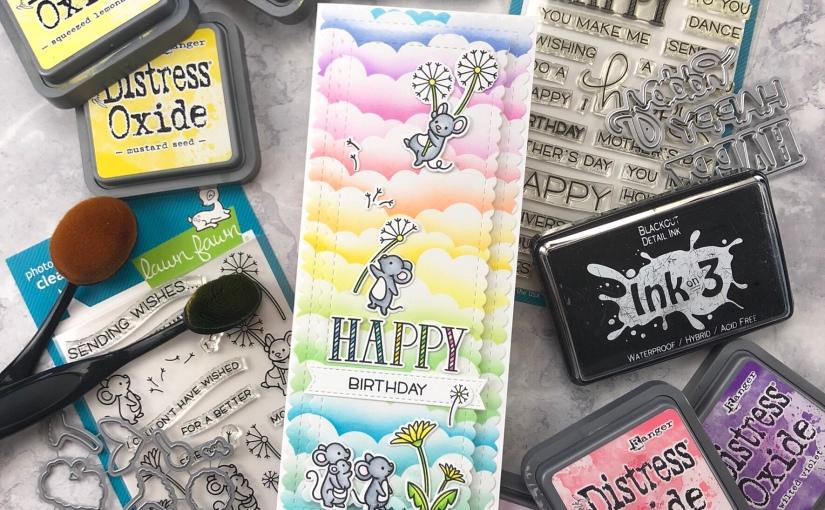 Wishing You A Dandy Day SlimlineCard