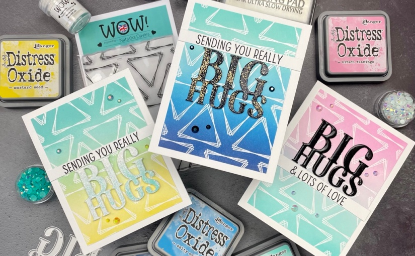 WOW! Embossing newest release and new goodies to playwith!